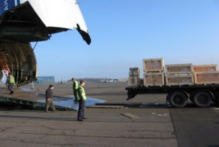 Loading Cases to Charter Aircraft East Midlands Airport