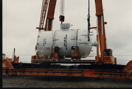 Heavy Lift Oil & Gas Equipment to India
