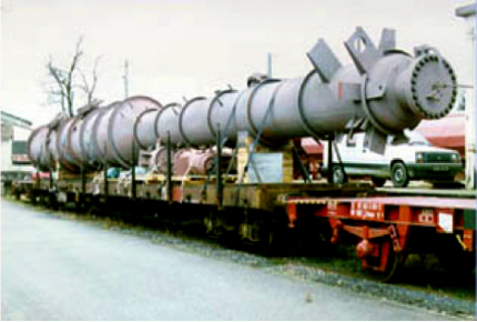 Oil & Gas Equipment Rail to Russia