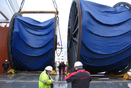 Loading Umbilical Reels - Duco Newcastle